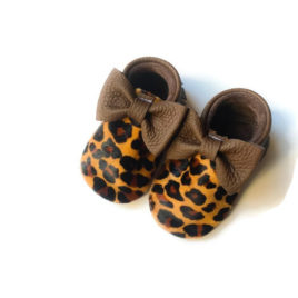"Cheetah/ Brown ""Bow"""