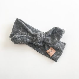 "Melange Dark Grey ""Headband"""