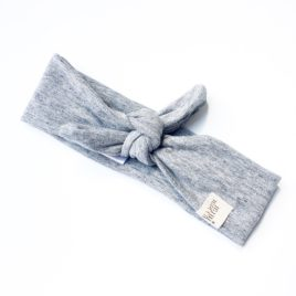 "Melange Light Grey ""Headband"""