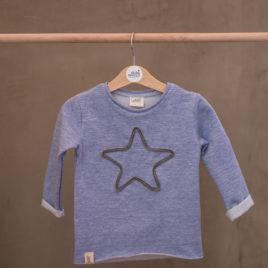 "Melange Baby Blue ""Sweater"""